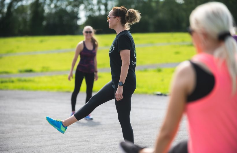 fitness with emer running