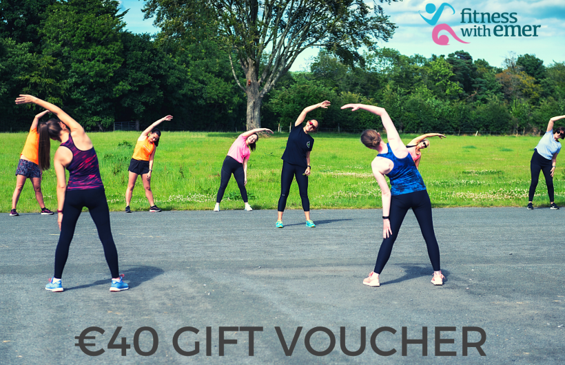 Fitness with emer gift voucher